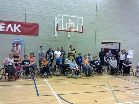 Scottish Wheelchair Basketball Development League 23-2-14