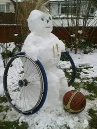 wheelchairbasketballsnowman