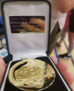 dev league play off champs medal