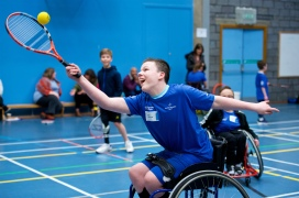 Tayside ParaSports Festival 2018, Dundee College. Scottish Disability Sport. Dundee.
